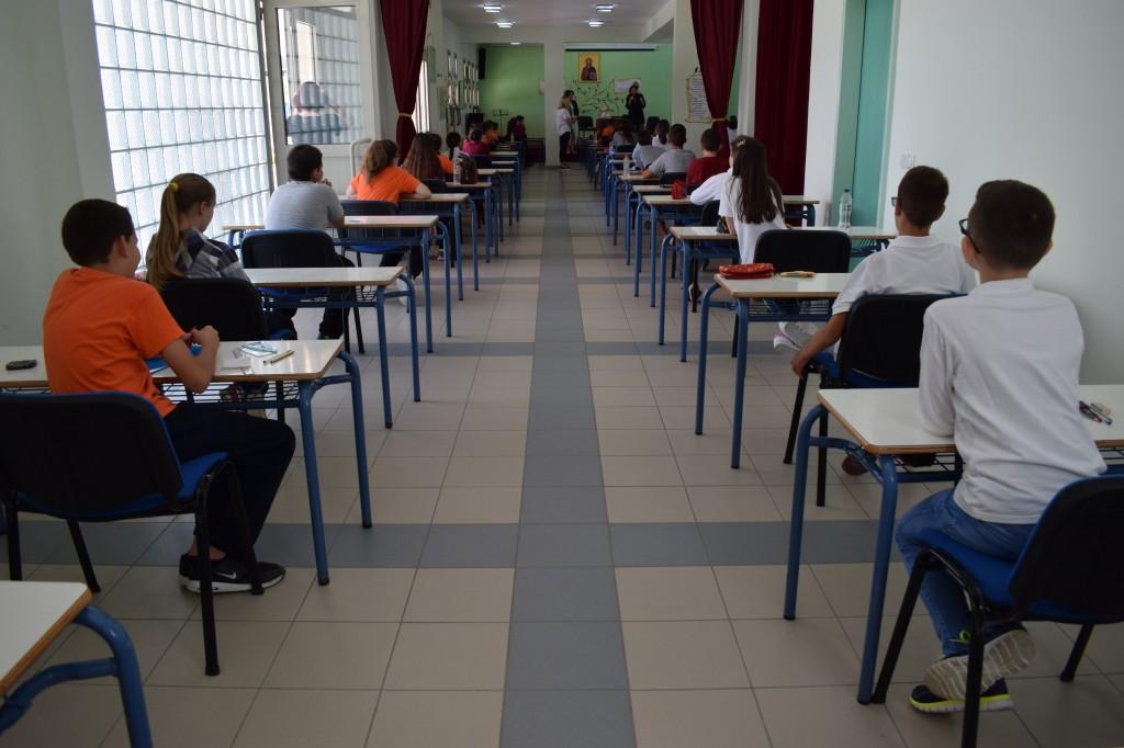 Προαγωγικές εξετάσεις Ε' τάξης